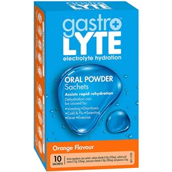 Gastrolyte Orange Sachet Pack of 10