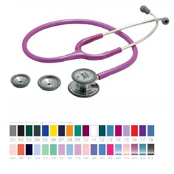 Stethoscope Spirit Deluxe Dual Head Aqua Blue