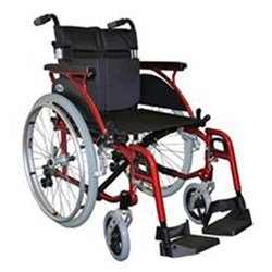 Wheelchair Link Aluminium Self Propelled 18""