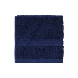 Face Washer Navy 33 x 33cm 50g C100