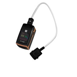 Finger Pulse Oximeter with External Paediatric Probe
