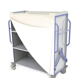 Clean Linen Trolley Large Front Cover